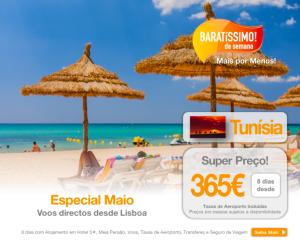Férias baratas na Tunísia - Verão