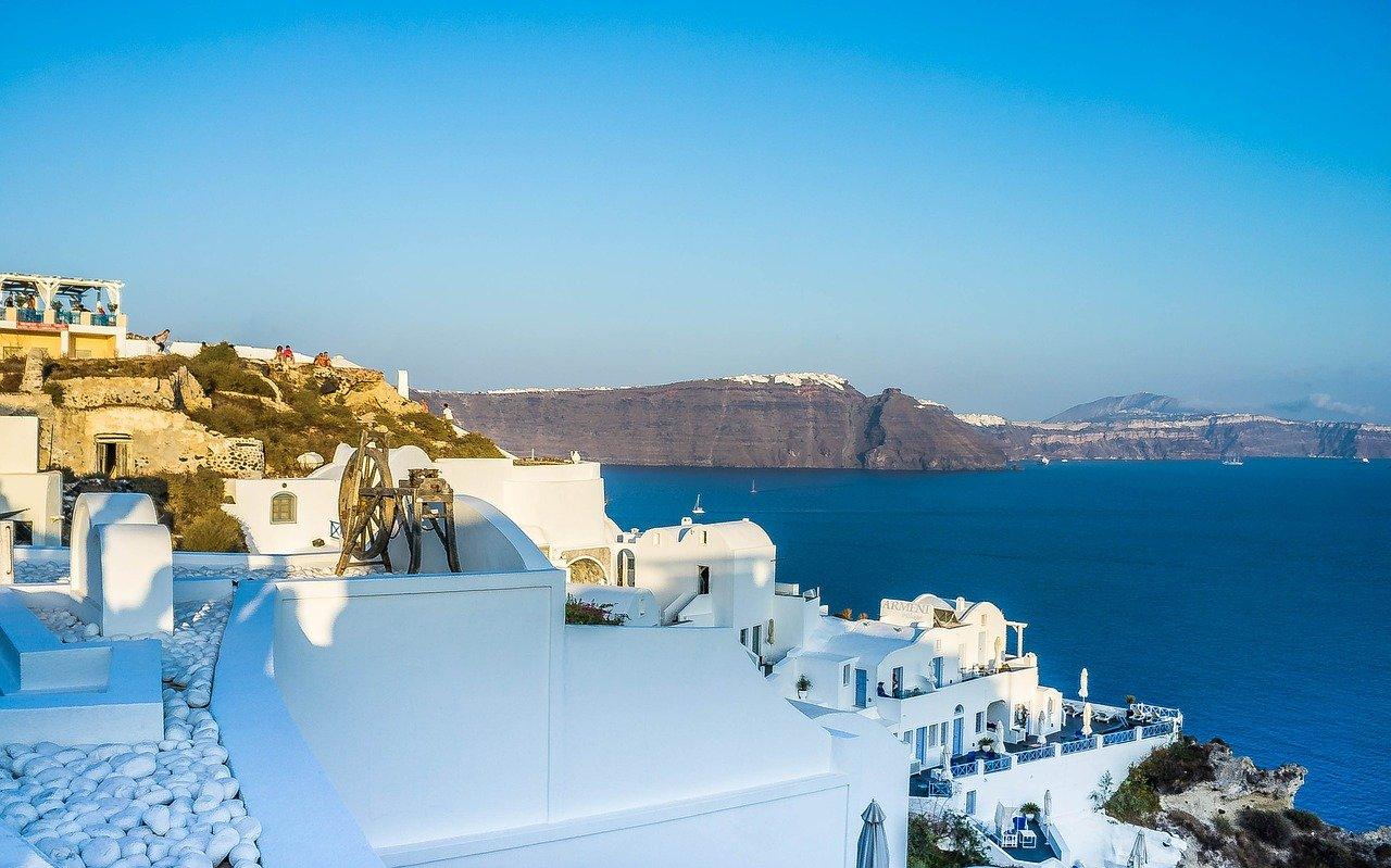 Santorini Kreta