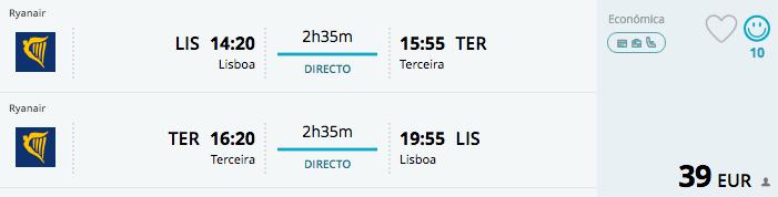 Voos low cost para os Açores
